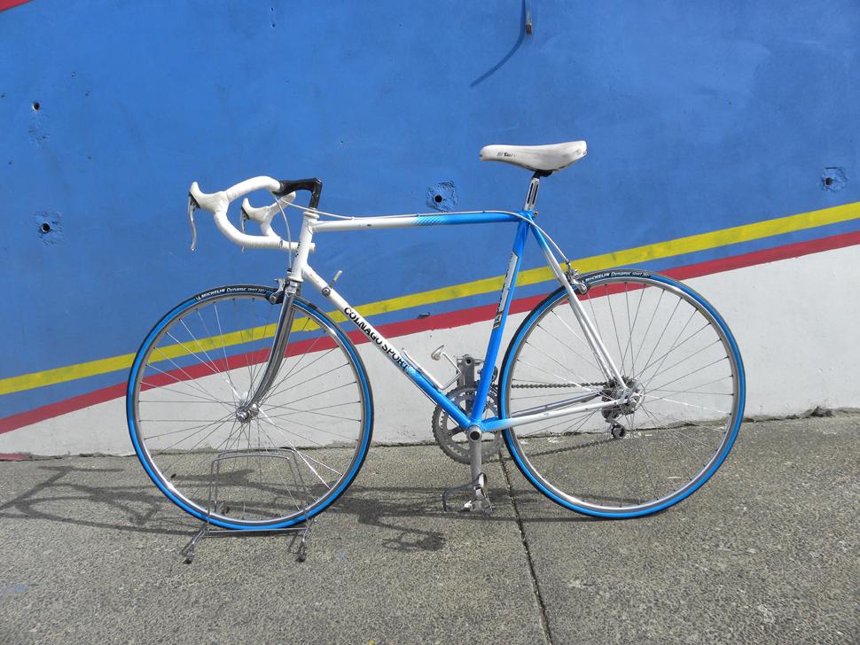 Colnago Sport Herrenrennrad Blau Weiß
