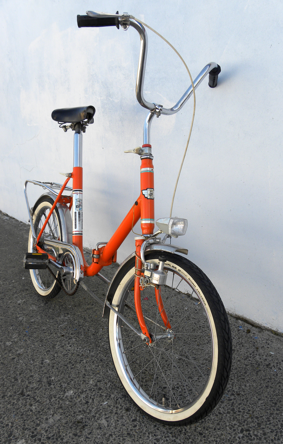 Klapprad Rixe Orange 20 Zoll