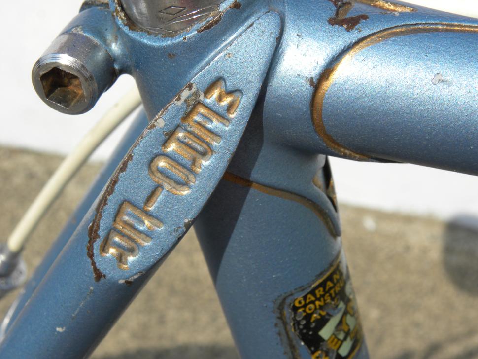 Le Taureau Herren Rennrad Blau Originalzustand