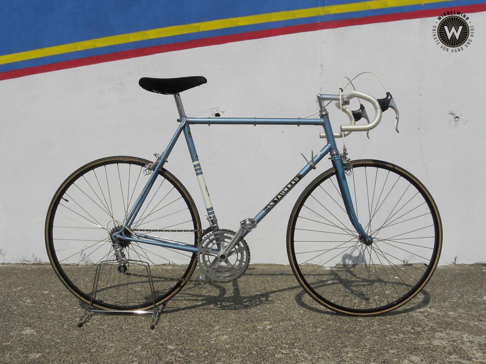 Le Taureau Herren Rennrad Blau Originalzustand Der Wirbelwind