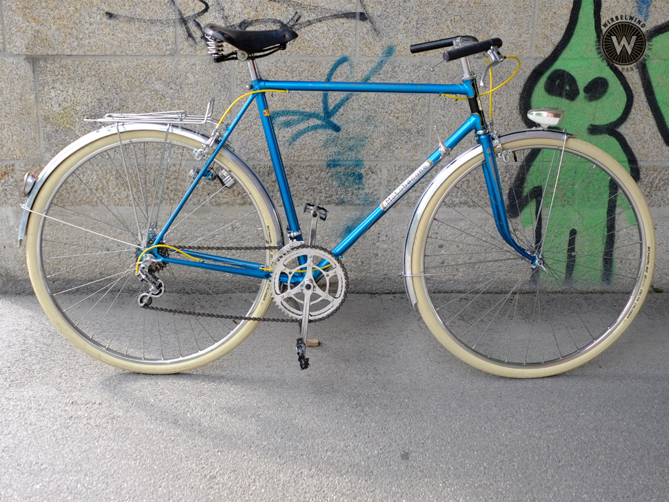 Motobecane Herrenrad Blau Cityflitzer Der Wirbelwind