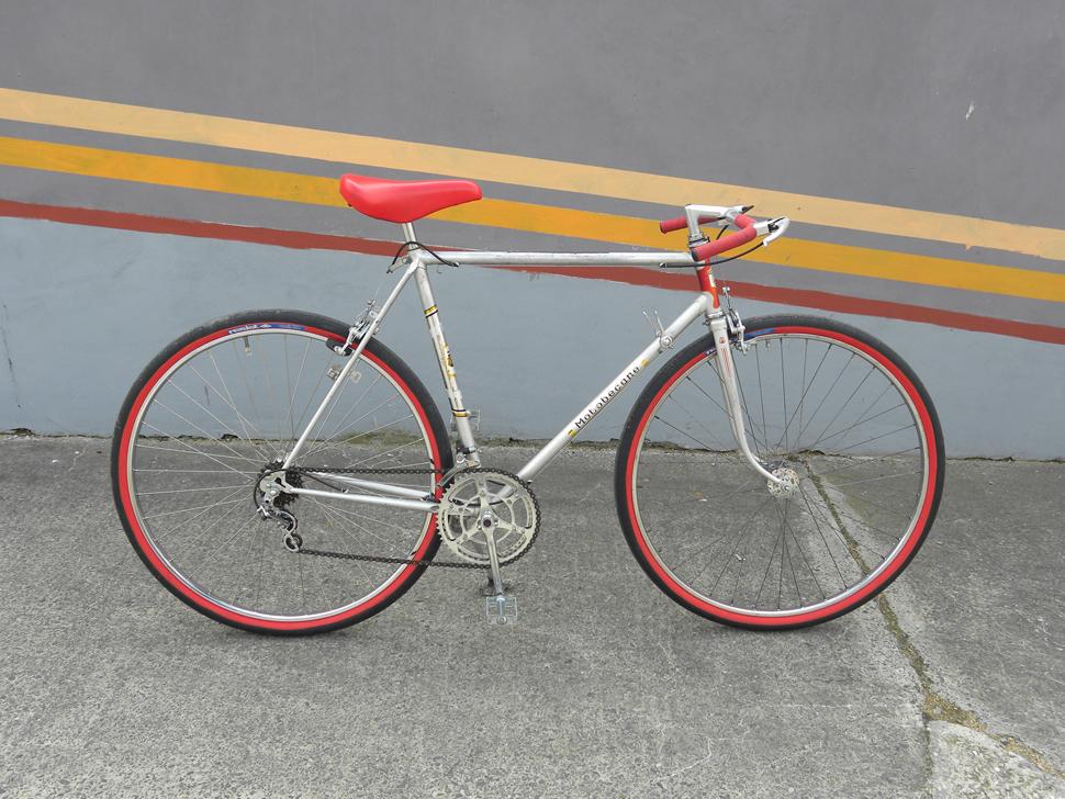 Motobecane Herrenrad Silber Rot Cityflitzer Der Wirbelwind