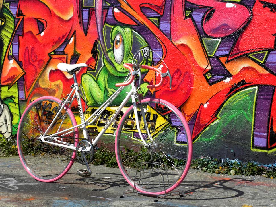 Peugeot Pink Weiß Cityflitzer Der Wirbelwind