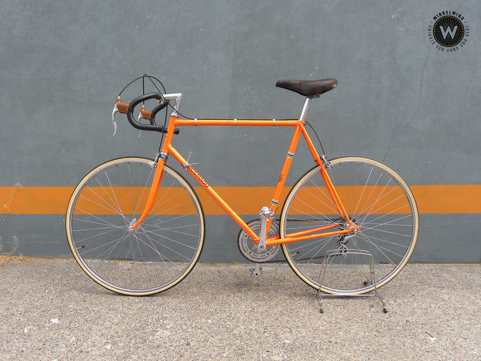 Colnago Super orange Der Wirbelwind