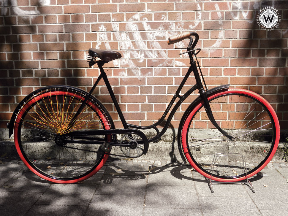Wanderer Damenrad Schwanenhals Der Wirbelwind