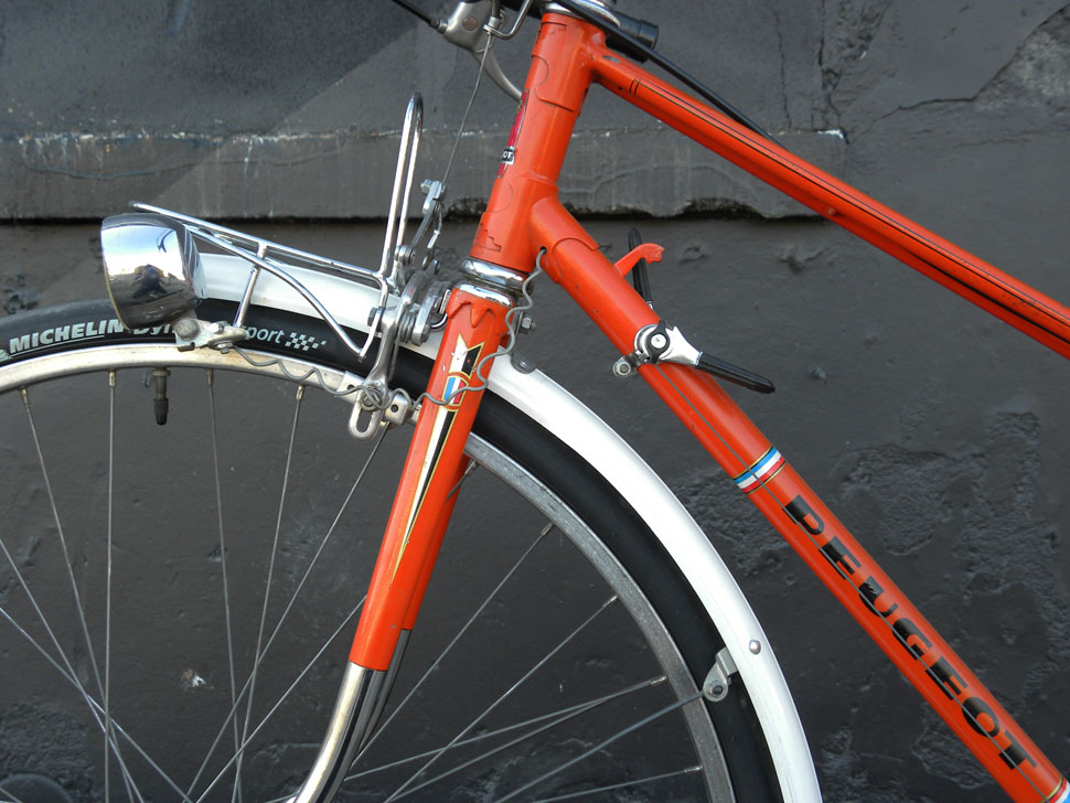 PEUGEOT MIXTE ORANGE